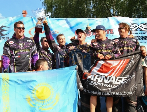 Art Chaos Moscow Champions Paintball League: Champoins Bitburg 2011