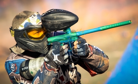 Millennium Series Paintball Player
