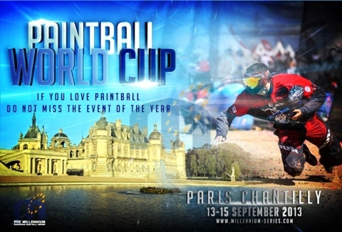 Paintball World Cup Chantilly 2013