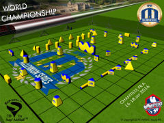 Paris-Chantilly 2016 Snake Field Layout