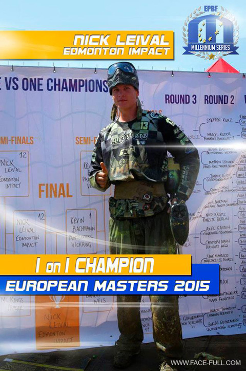 1 on 1 Champion European Masters 2015: Nick Leival, Edmonton Impact
