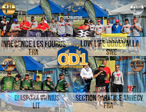 Open Division 1 Podium Campaign Cup 2014