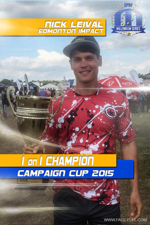 Campaign Cup 2015 1on1 Champion: Nick Leival