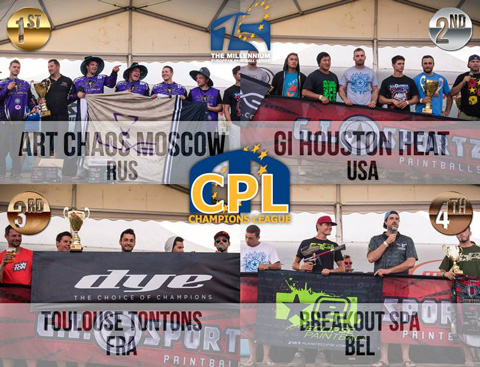 CPL Podium Word Cup 2014 in Chantilly