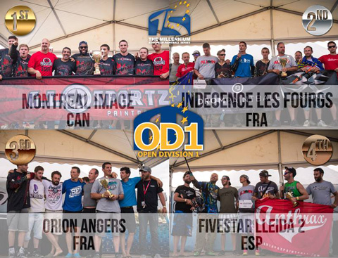 OD1 Podium Word Cup 2014 in Chantilly
