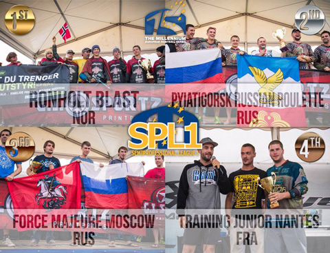 SPL1 Podium Word Cup 2014 in Chantilly