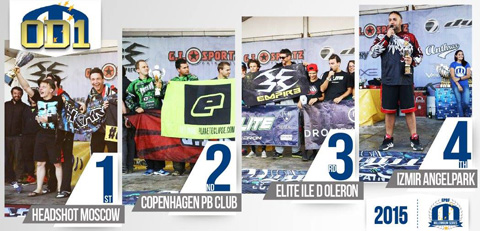 2015 Overall Divisional Podiums: Open Division 1