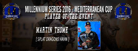 Player of the event Mediterranean Cup 2016: Martin Thome