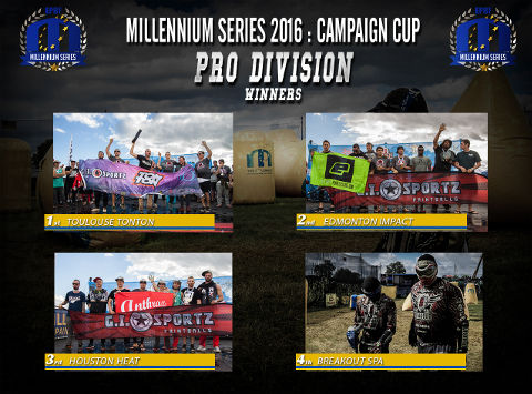 The winners of CPL at the Campaign Cup 2016, Basildon/United Kingdom