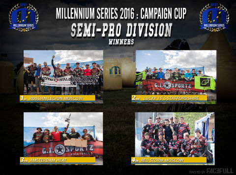 The winners of SP at the Campaign Cup 2016, Basildon/United Kingdom