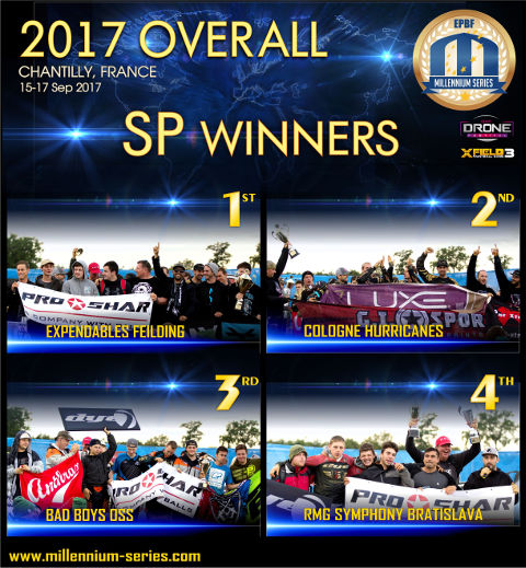 Millennium Series Overall Winners 2017 in Semi Pro