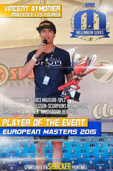 Player of the Event Bitburg 2015: Vincent Aymonier