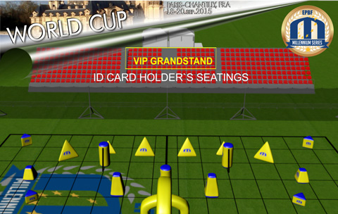 Millennium Series Grandstand VIP Ticket Shop