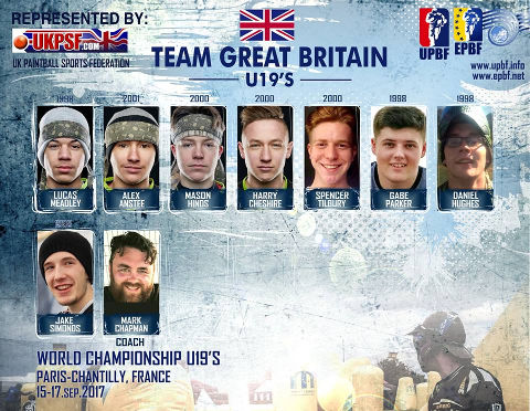 EPBF World Cup U19 2017 Team Great Britain