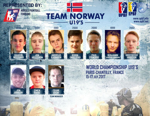 EPBF World Cup U19 2017 Team Norway