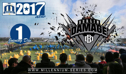 Berlin Damage is joining Divison 1 for 2017!  Good luck, guys!