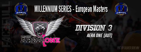 Entering the Division 3 at the European Masters in Bitburg 2016: Team Area One!