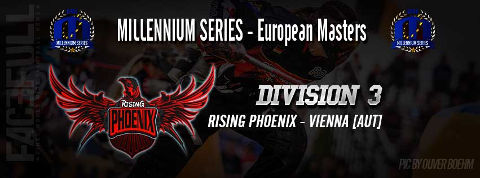 Entering the Division 3 at the European Masters in Bitburg 2016: Team Rising Phoenix!