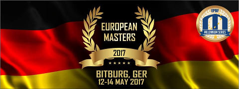 Next event: European Masters in Bitburg, Germany