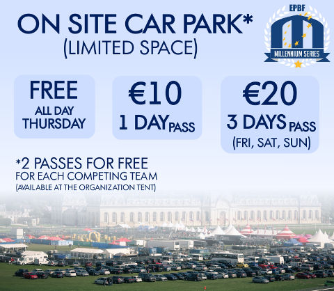 Chantilly on site car parking