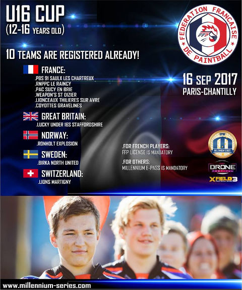 FFP U16 at Paris-Chantilly World Cup 2017