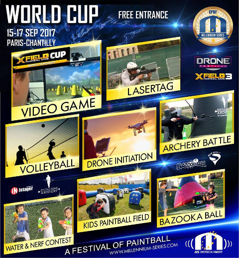 Paintball World Cup 2017 Events
