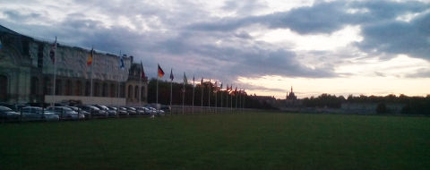 Friday morning at the World Cup in Paris-Chantilly 2017
