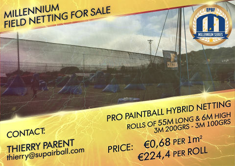 We have a field netting for sale