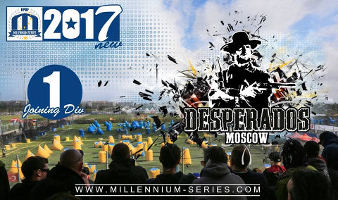We welcome team Desperados Moscow in Division 1 this year!