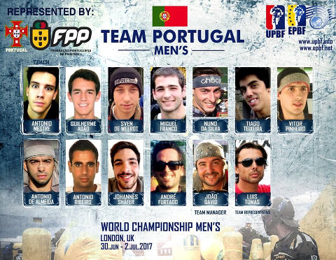 EPBF World Cup Men's 2017 Team Portugal