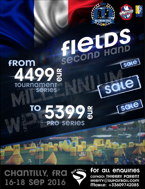 Field sale at Chantilly - contact: thierry@supairball.com