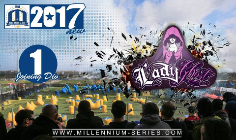 We are going to have one more women`s team in Division 1: Ghost Paris promotes their second squad for 2017!  Welcome LADY GHOST from Paris!