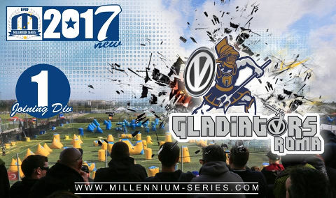 Stepping up to Division 1 next season - Gladiatori Roma from Italy!