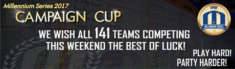 Good luck to all 141 teams at the Campaign Cup
