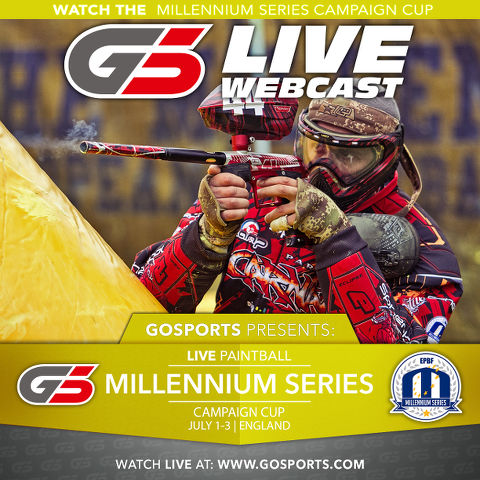 Millennium Series Campaign Cup is on and it's LIVE at www.GoSports.com