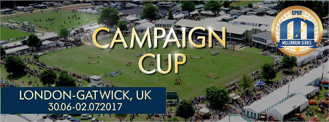 Campaign Cup 2017 London-Gatwick