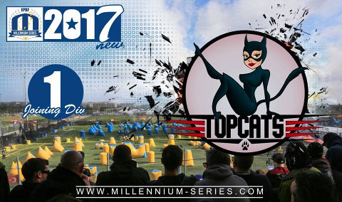 We welcome London Topcats to Division 1 this year! Best of luckluck!