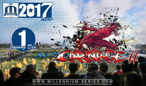 Welcome Paris Camp Carnage 2 to Division 1 in 2017!