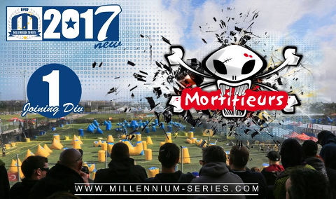 Paris Mortifieurs join Divison 1 for 2017! Welcome back to Millennium, guys!