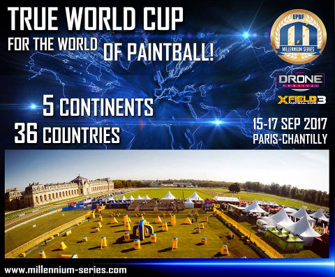 Millennium Series World Cup 2017 in Chantilly-France
