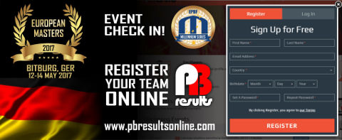 Millennium Series PBResults Event Checkin