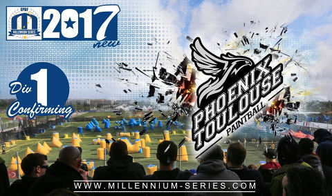 Phoenix Toulouse confirms the spot in Division 1 for 2017!