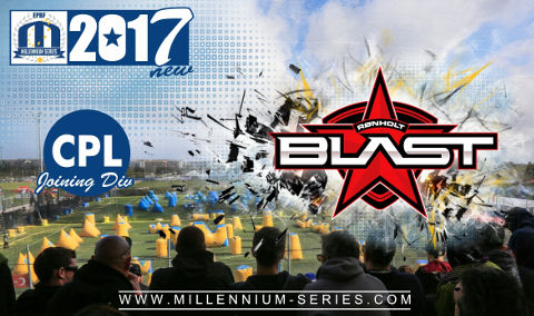 CPL 2017 team Ronholt Blast from Norway