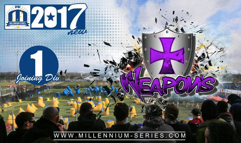 Weapons St. Dizier is joining Division 1 for 2017! Welcome, and best of luck!