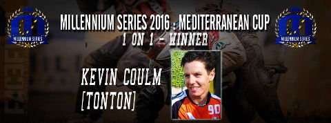 1 on 1 winner Mediterranean Cup 2016: Kevin Coulm