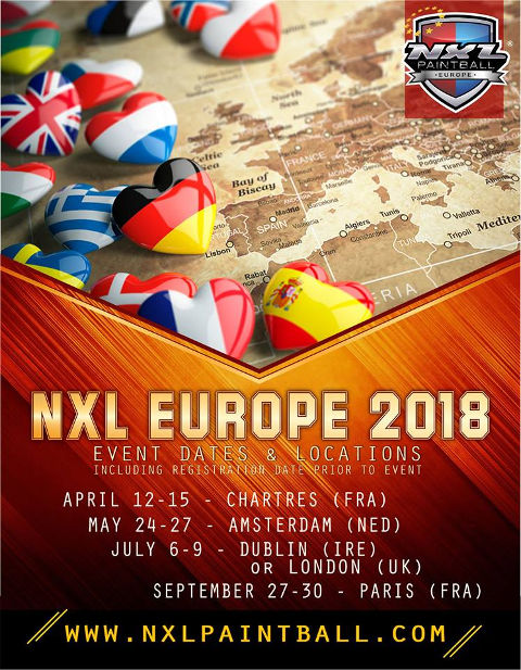 NXL Europe Date & Locations