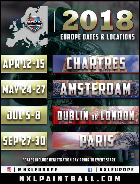 NXL Europe 2018 Dates & Locations small fix