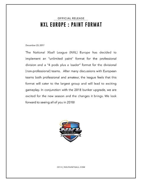 NXL Europe 2018 Paint Format