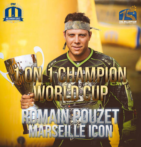 Chantilly '14 1 on 1 Champion - Romain Pouzet from Marseille Icon