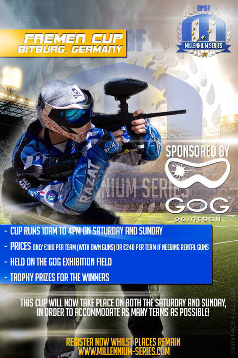 3-Man Cup Special for Bitburg: Register Now